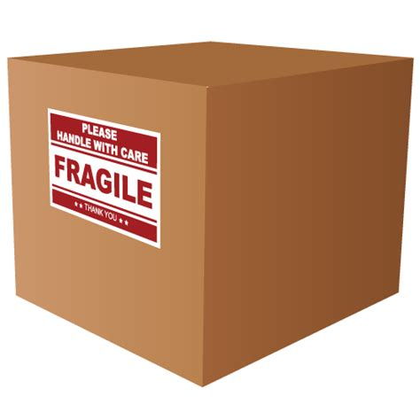 Packing Plastik Stiker Fragile fragile handle with care stickers