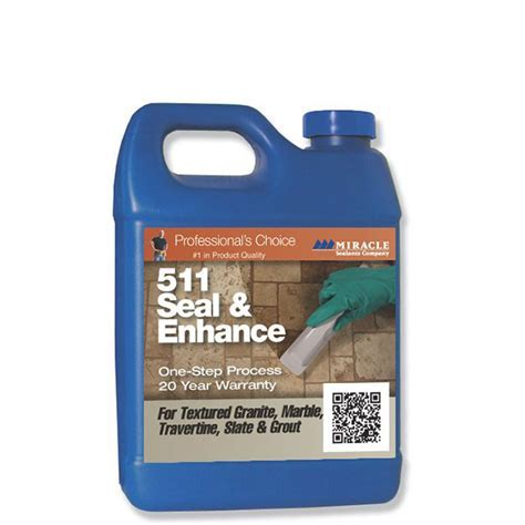 MIRACLE 511 Seal & Enhance, QuartMIRACLE Stone Tile Care
