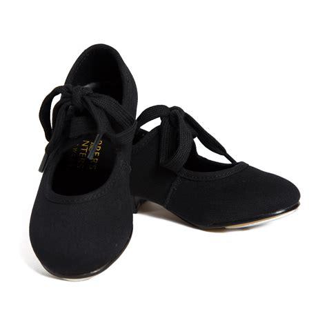 black tap shoes black canvas tap shoes 187 babyballet