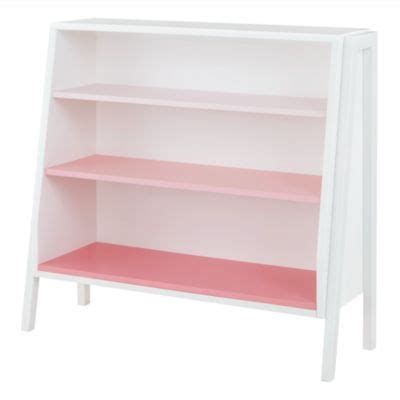Pink Shelf by Graduated Wide Bookcase Pink Shelves The Land Of Nod X2