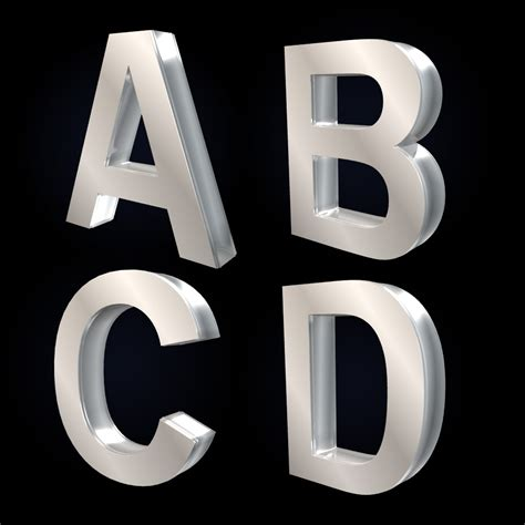 3d Letter Templates by Letter 3d Formal Letter Template