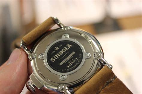 Handmade Watches Detroit - shinola cool