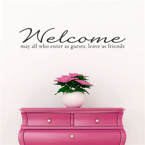 welcome wall sticker in i don t see ya afternoon evening and goodnight new players introduction