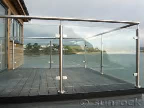 Steel Deck Handrails Balcony With Glass Railing Uk Google Search Front Yard