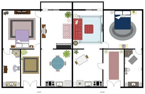 import furniture to floor plan