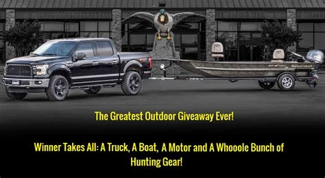 war eagle boats banded edition the greatest outdoor giveaway ever sweepstakes