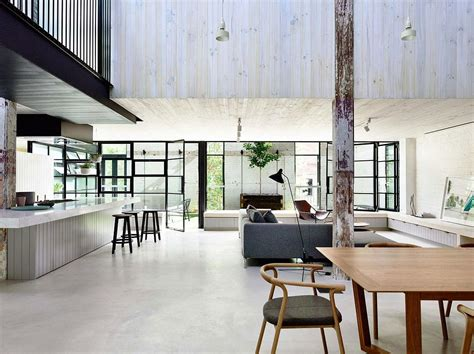 modern loft old brick warehouse in melbourne finds new life as a
