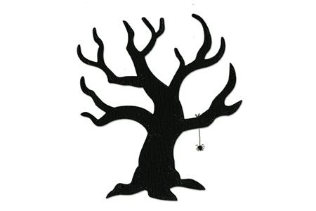 spooky tree template plans diy free download rear carport