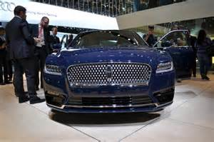 Connected Car Expo 2017 2017 Lincoln Continental Lands At Detroit Auto Show Live