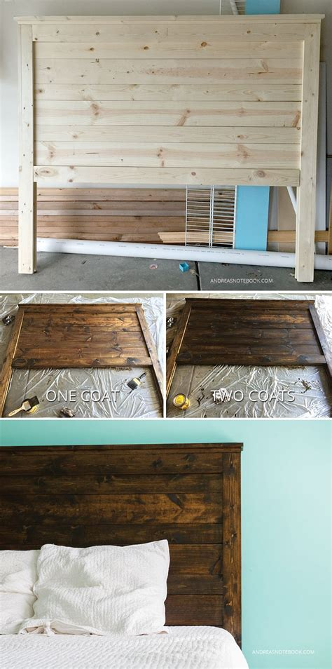 Make Your Own Diy Rustic Headboard Andreasnotebook Com A Rustic Headboard