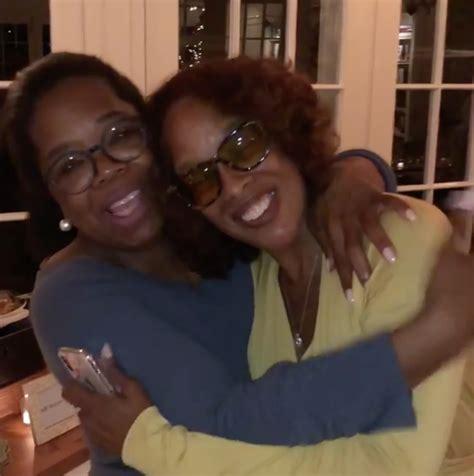 oprah winfrey best friend oprah winfrey throws best friend gayle king intimate