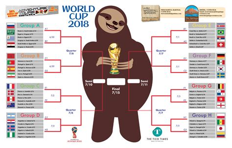 world cup 2018 bracket our special world cup print edition is here the tico