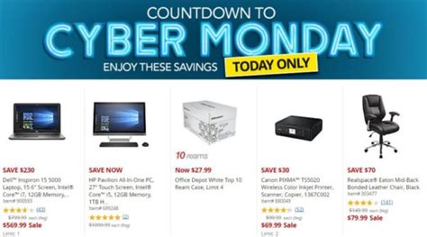 Office Max Dallas today only office max office depot cyber monday savings