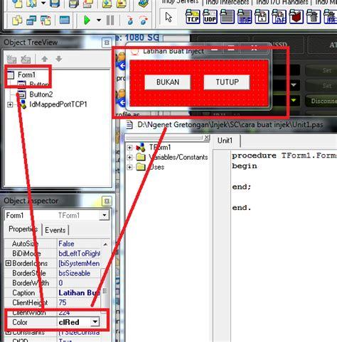 tutorial delphi 7 inject tutorial membuat inject dengan delphi 7 cyberphreaking