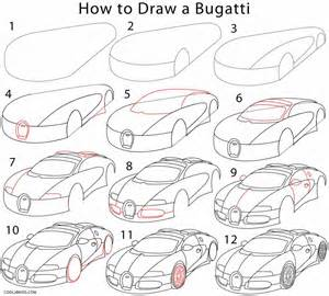 How To Draw A Bugatti Step By Step How To Draw A Bugatti Step By Step Pictures Cool2bkids