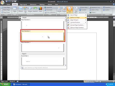 cara membuat nomor halaman dengan huruf arab cara membuat nomor halaman yang berbeda pada microsoft