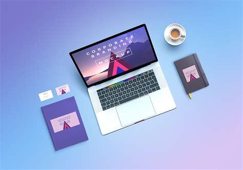 graphic design mockup site corporate branding mockup psd graphicsfuel