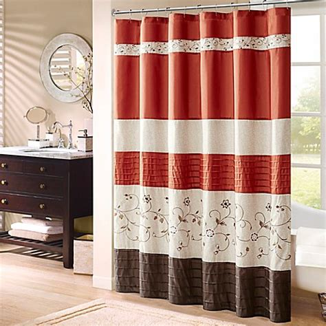 madison park laurel shower curtain buy madison park serene 72 inch x 72 inch embroidered