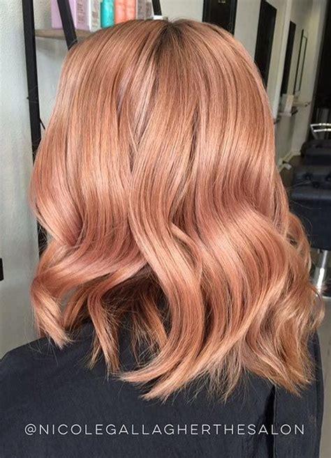 60 trendiest strawberry hair ideas for 2018 trends 2018 gold hair color 60 gold hair color ideas maintenance for
