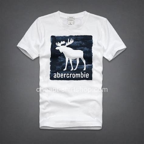 Tshirt Abercrombie Fitch White abercrombie fitch white mens sleeve a f t shirts