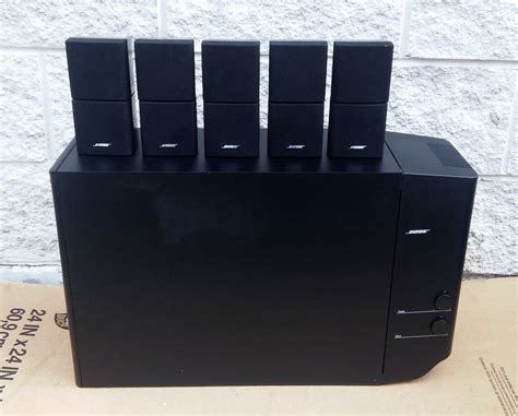 bose lifestyle 12 home theater surround system for sale