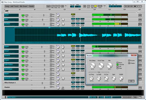 audio video layout software bremmers audio design multitrackstudio multitrack