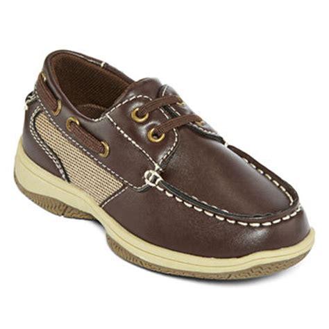 jcpenney toddler boy shoes okie dokie 174 brett boys boat shoes toddler jcpenney