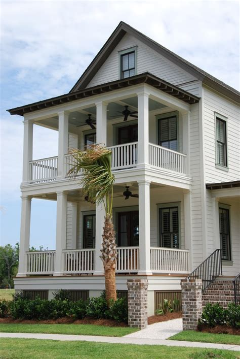 double porch house plans coasting the lowcountry double front porches stack up