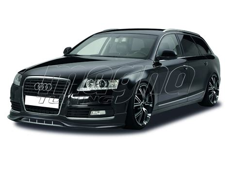 Facelift Audi A6 by Audi A6 C6 4f Facelift Crono Front Bumper Extension