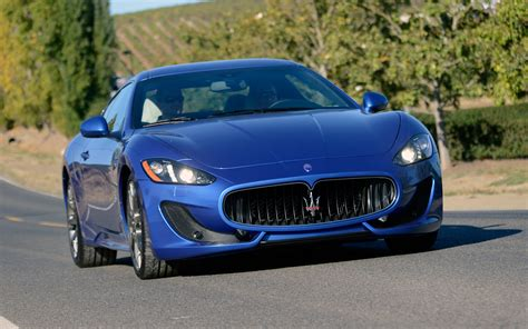 2013 maserati granturismo 2013 maserati granturismo sport first test motor trend