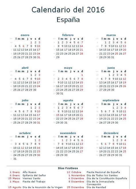 Calendario Con Dias Festivos Festivos Nacionales 2018 De Opcionis
