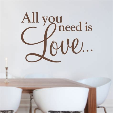 all you need is wall sticker all you need is wall quote sticker wa068x