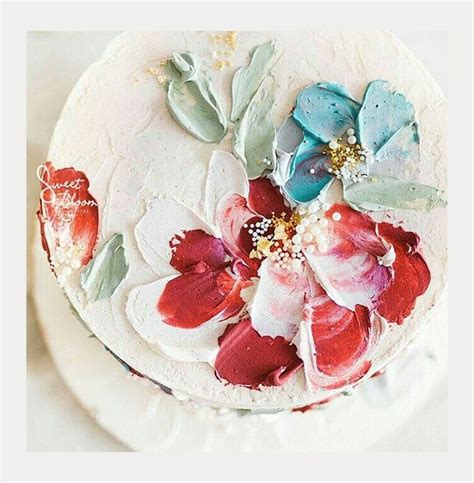 buttercream paint 2937 best wedding cakes images on pinterest