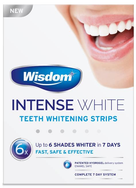 intense white teeth whitening strips wisdom