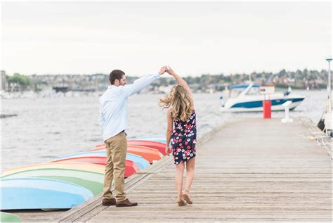 the center for wooden boats wedding nautical engagement session at the center for wooden boats