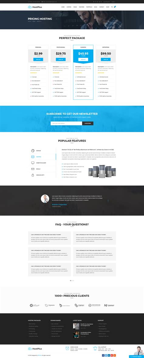 file hosting template hostplus hosting psd templates by goatold themeforest
