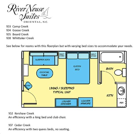 efficiency floor plans floorplans at river neuse suites an nc hotel