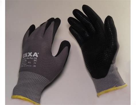 comfort grip gloves 51 295 oxxa 174 x pro flex plus