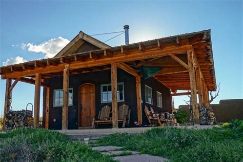 468 sq ft grid tiny cabin in colorado