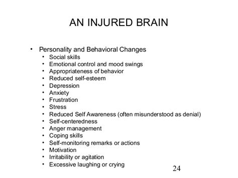 mood swings after head injury the traumatic brain injury and chemical dependency connection