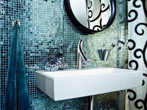 salle de bain avec carrelage mosaique bleu p 233 trole deco