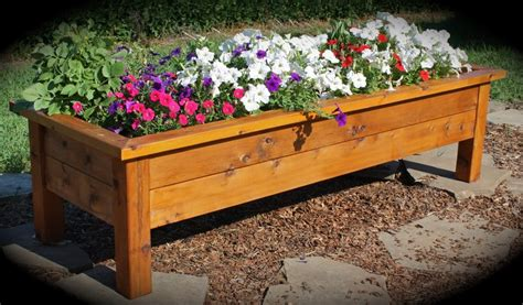 Make Planter Boxes by How To Build A Planter Box Casual Cottage