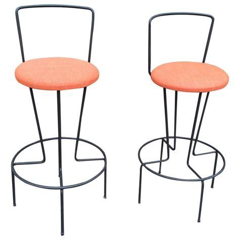 mid century modern furniture bar stools pair of mid century modern frederick weinberg bar