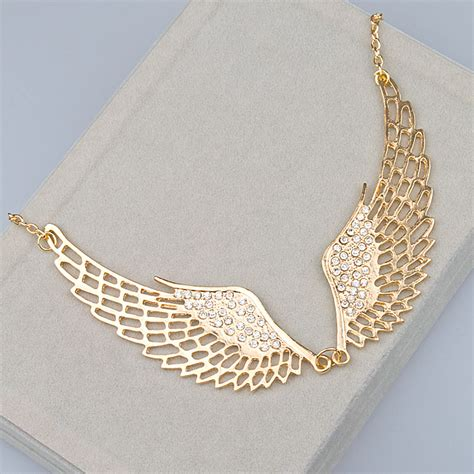 Choker Pearly Wings Choker wings jewelry with quotes quotesgram