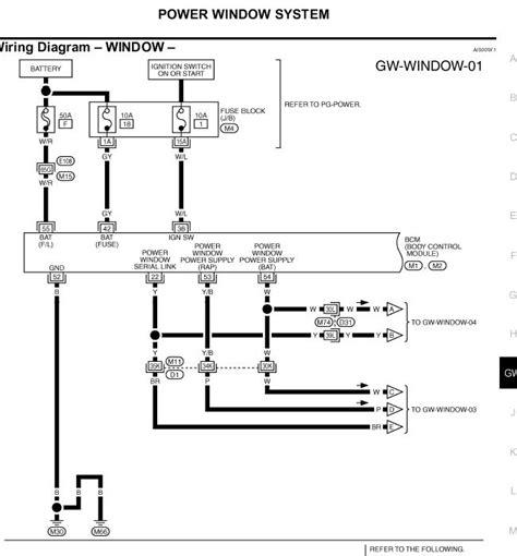 2004 infiniti wiring diagram free schematic