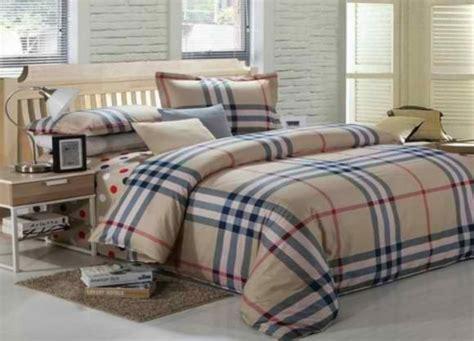 burberry bedding light in net designer bed cover set