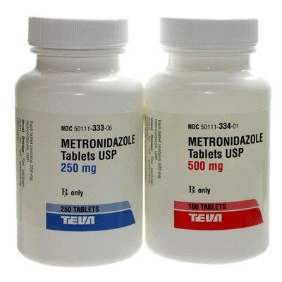 Metronidazol 500mg 10 S metronidazole antibiotic antiprotazoal for dogs and cats vetrxdirect