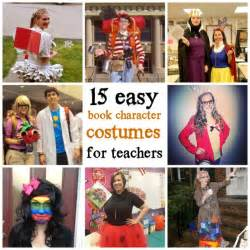 15 easy book character costumes for teachers the cornerstone