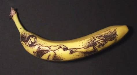 tattoo prices at blue banana food art made with fruit tattooed bananas food art