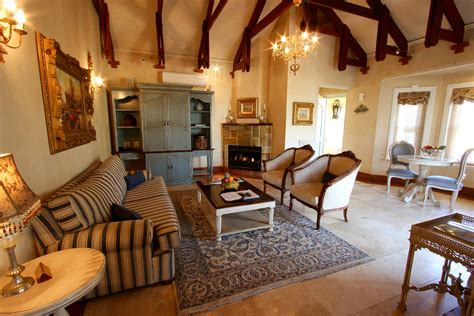 Media Room Lounge Suites by Winter Special At Franschhoek Country House Villas